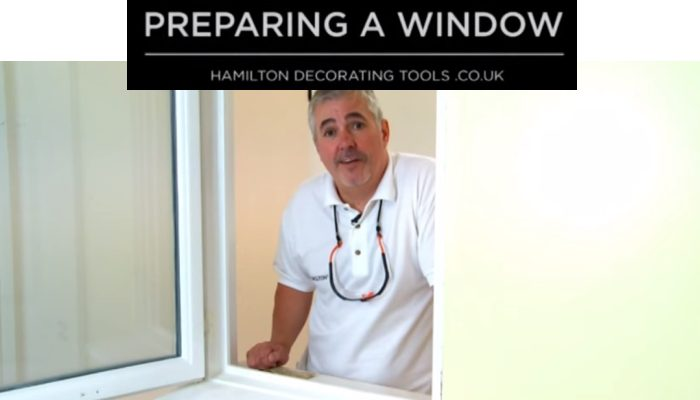 Painting a window
