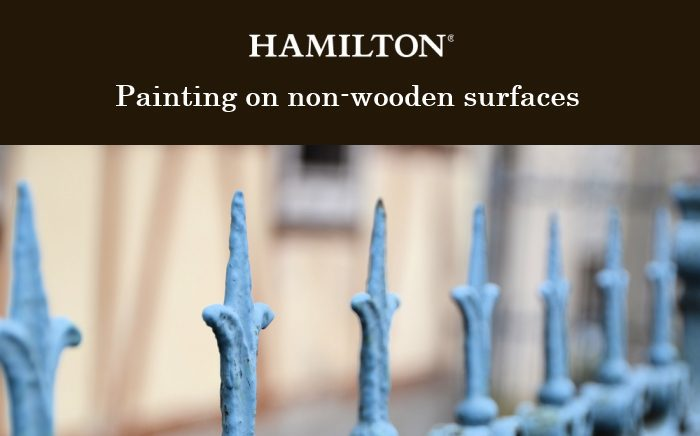 Painting on non wooden surfaces