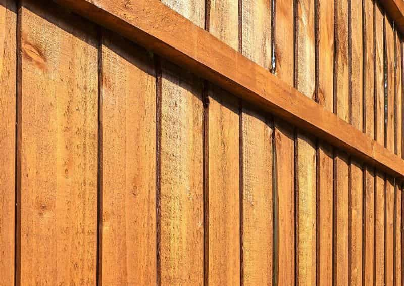 guide to staining a fence