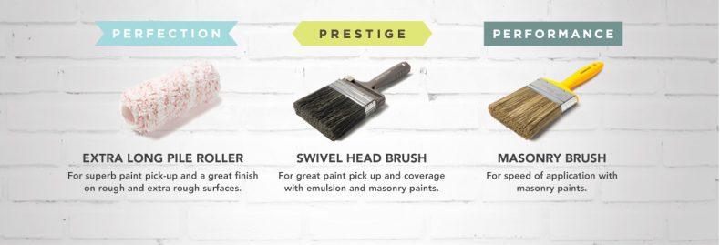 masonry paint brushes